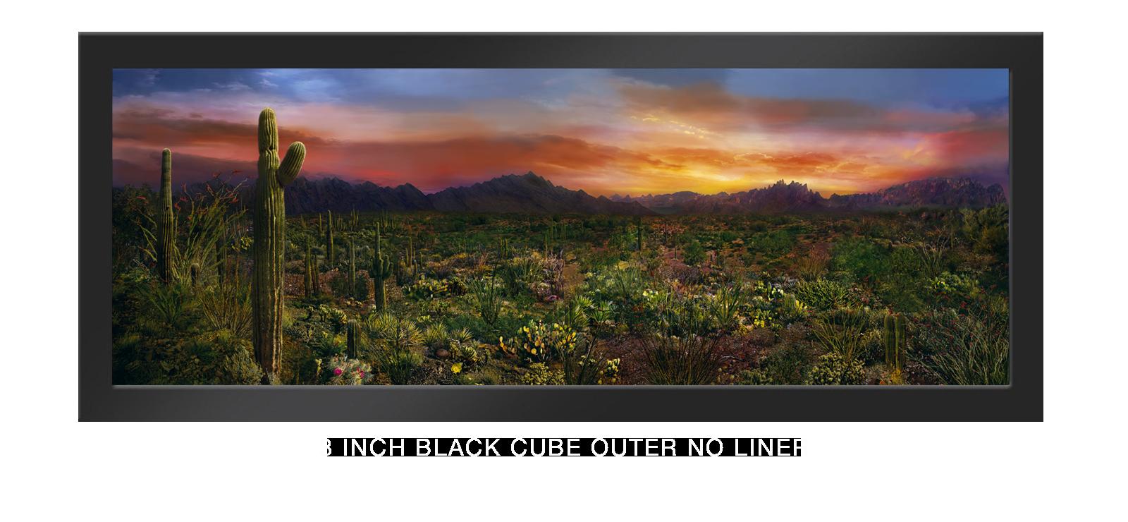 13EDEN VERNALIS 3 Inch Black Cube Outer w_No Liner T